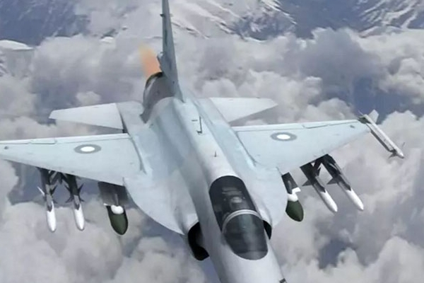 PAC JF-17 Thunder animation